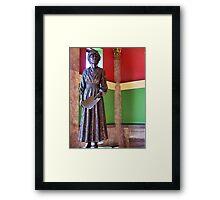 Jeanette Rankin Framed Print