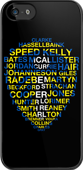 Leeds United Best Players Badge by James Frewin