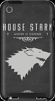House Stark iPhone Case by liquidsouldes