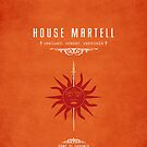 House Martell iPhone Cover by liquidsouldes