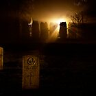 Graveyard by Night by Morriki