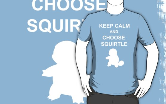 keep calm and choose squirtle by jem16
