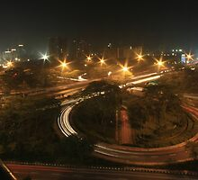 Semanggi Junction (by night) by Property & Construction Photography