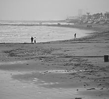 A Beach In Galveston by Diego  Re