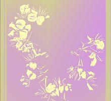 Sereen Abstract flower_02 by Yanieck