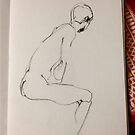Life Drawing #2 by abigael whittaker