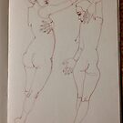 Life Drawing #4 by abigael whittaker
