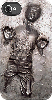 Han Solo in carbonite iphone 4 4s, iPhone 3Gs, iPod Touch 4g case by Pointsale store