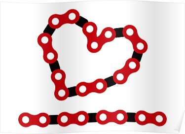 Bicycle Chain Love by PaulHamon