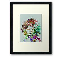 Jimmy Hendrix Framed Print