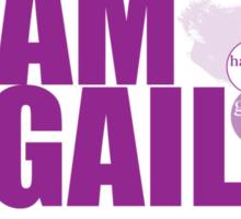 TeamGail: Faith.Hope.Life Sticker