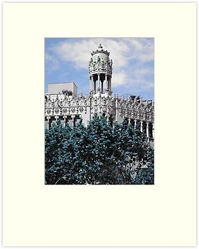 I Love Barcelona 5 by Diana  Kaiani