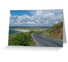 The Road to Maghery Greeting Card
