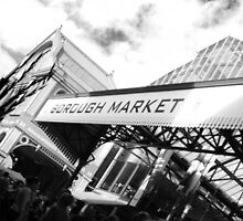 Borough Market London by Richard Brown