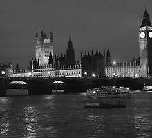 Houses of Parliament London by Magdalena Warmuz-Dent