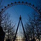 Blue Eye over London by Silken Photography