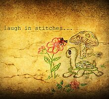 Laugh in Stitches by Lea  Weikert
