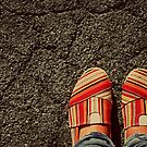 Shoes on  the Cement by Kerri Swayze