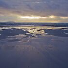 Squeaky Beach Sunset by Steve Edwards