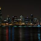 Chicago Skyline with Willis Building by eegibson