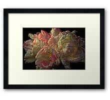 I Love You ...Bunches Framed Print