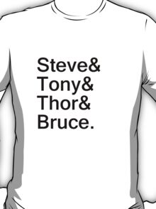 The&Avengers& T-Shirt