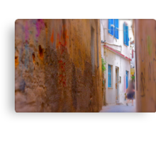 My impressionistic fleeting moment of time . by  Doktor Faustus. 3 favoritings 93 views . I'm feeling so good ! Yeah ! Metal Print