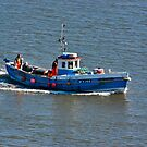 Whitby Fishing Boat by Trevor Kersley
