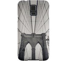 Brooklyn Bridge - New York City | B/W - iPhone/iPod Samsung Galaxy Case/Skin