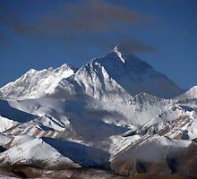 Mount Everest Tibet by Alex Sharp