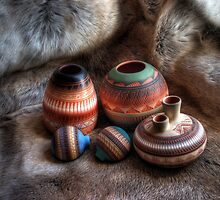 Navajo Pottery by Merja Waters