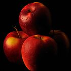 Crisp Gala Apples by Vee Robillard