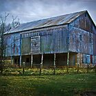 blue barn by g richard anderson