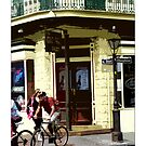 Biking In The French Quarter by Sandra Russell