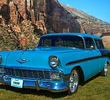 1956 Chevrolet Nomad by TeeMack