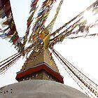 Stupa in Nepal by Joanne Rinaldi