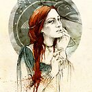 Lysa Tully by elia, illustration