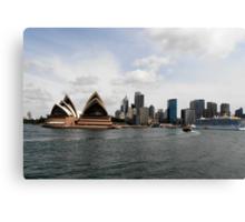 Stunning City of Sydney Skyline, Sydney, Australia. Canvas Print