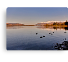 Derwentwater Lake District Canvas Print