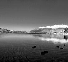 Derwentwater Lake District by Trevor Kersley