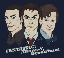 New Who Doctors: FANTASTIC! Allons-Y, Geronimo! by Jess-P