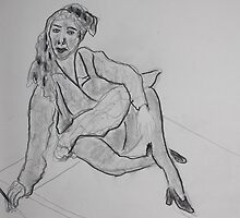 GYPSY WOMAN     DRAWING CLASS by eoconnor