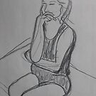 THINKING  -  DRAWING CLASS by eoconnor