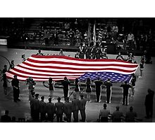 Old Glory Photographic Print