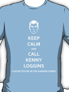 Danger Zone! (White Fill) T-Shirt