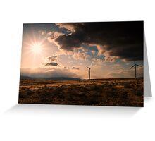 Renewable Energy Greeting Card
