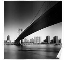 NYC: Manhattan Bridge Poster
