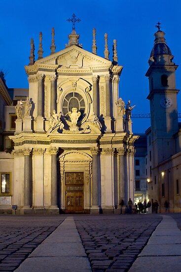 Church of Santa Cristina - Turin, Italy by Mark Van Scyoc