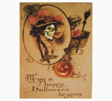 Happy Halloween (Vintage Halloween Card) by Welte Arts & Trumpery