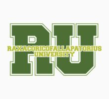 Raxacoricofallapatorius University Kids Clothes